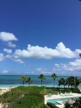 Coral Gardens on Grace Bay: The view from our balcony, Room 4305!