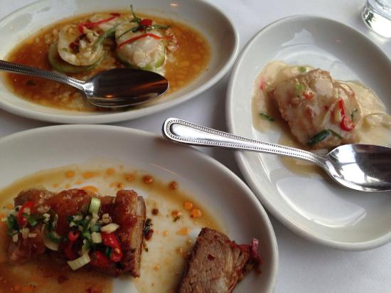 Hunan: From the leave it to us menu