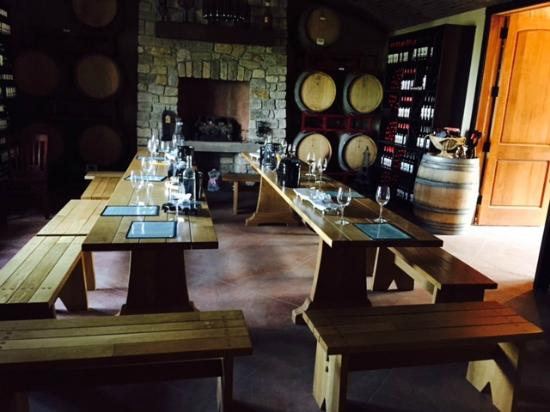 Magnus Ridge Winery: tasting room?