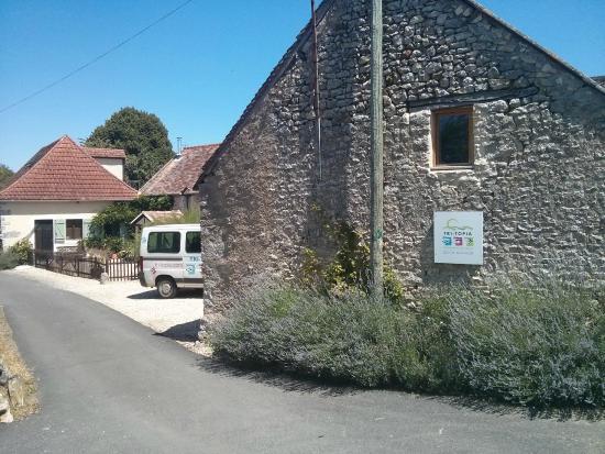 Tri-topia: Farmhouse setting with support minibus for longer trips