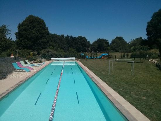 Tri-topia: Full 25m pool available every day