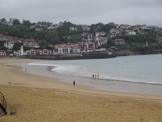 beach at st jean de luz picture of discover san. Black Bedroom Furniture Sets. Home Design Ideas