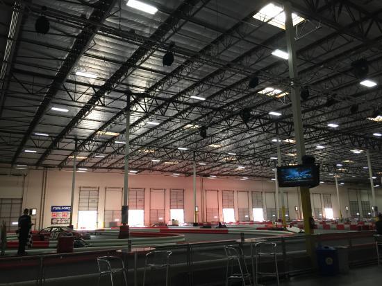 K1 Speed Ontario: Warehouse indoor track