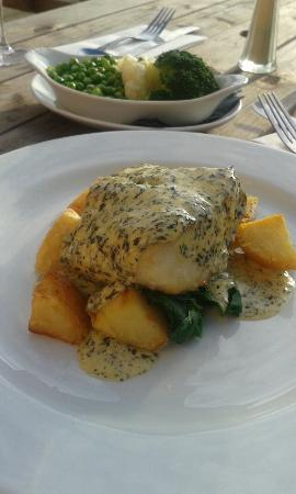 The Old Inn: Great cod with saute potatoes