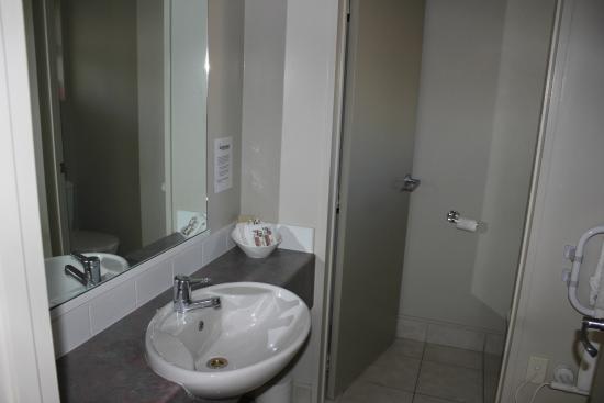 New Plymouth, Nueva Zelanda: Bathroom