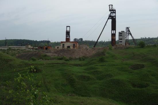 Solotvyno, Ουκρανία: Salt mines