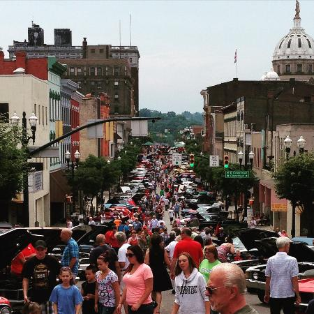 "The 2nd weekend in July is when Washington PA celebrates it's historical role in ""The Whiskey Re"