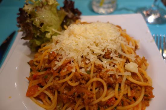 Marvista Restaurant: spaghetti bolognese