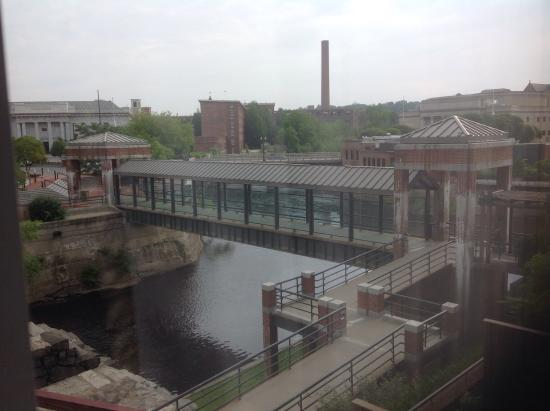 UMass Lowell Inn & Conference Center: River view