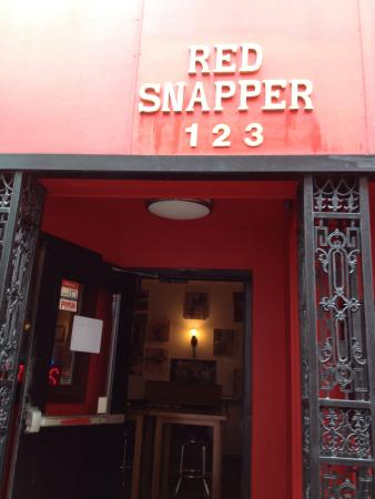 The Red Snapper Bar