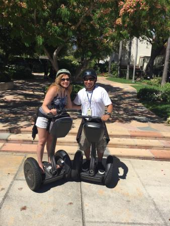 Segway of Santa Barbara: We had so much fun on the Segway, and it could not have been possible without our tour guide Tim