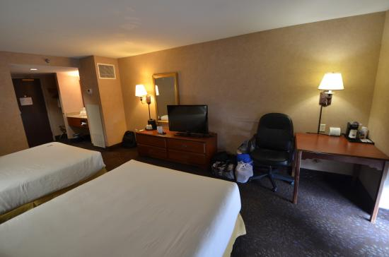 Holiday Inn Express Deadwood: La chambre