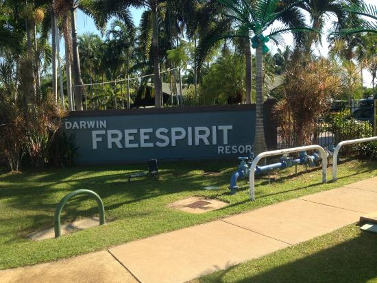 Darwin FreeSpirit Resort : Entrance