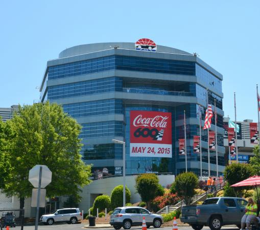 Woo hoo picture of charlotte motor speedway concord for Charlotte motor speedway concord parkway south concord nc