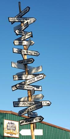 Healy, AK: ...signpost! At least feels like ends of the earth!