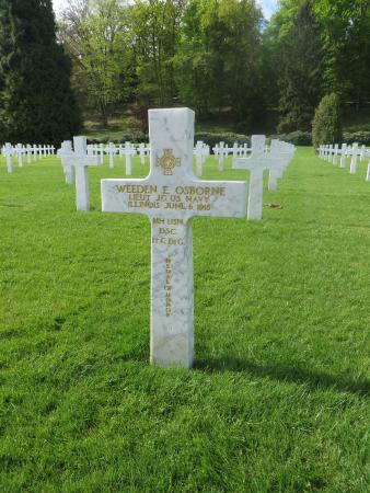 Aisne, Fransa: Grave of LtJG Weedon Osborne, Medal of Honor winner