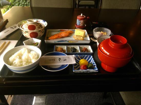 Unkai: 和朝食