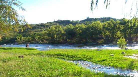 Cosquin, Argentina: Juntura de los ríos