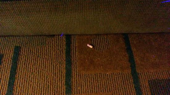 La Quinta Inn & Suites Milwaukee Bayshore Area: Pill found near the couch in our room.