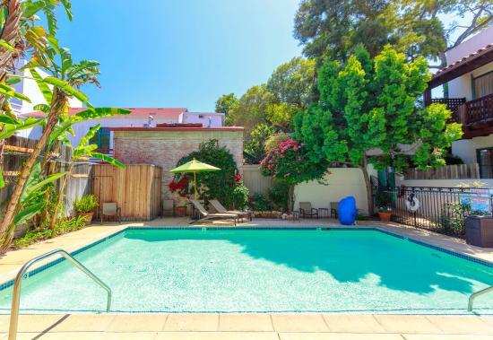 Pool - Picture of Spanish Garden Inn, Santa Barbara - TripAdvisor