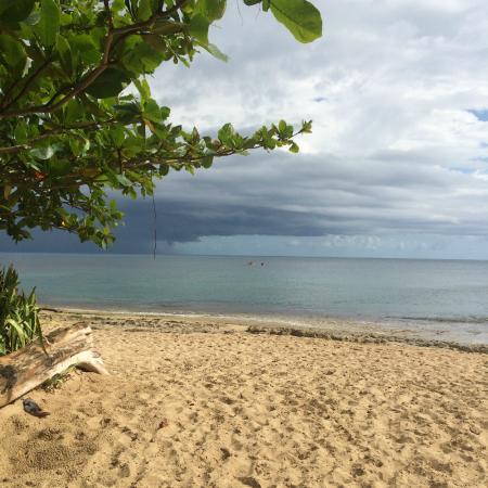 Villa Ensenada Inn: beach just steps from the villa