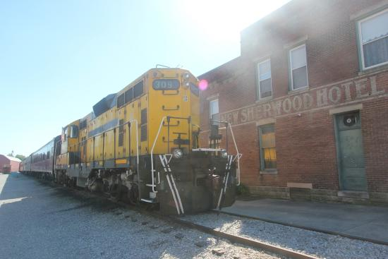 New Haven, KY: One of their engines...