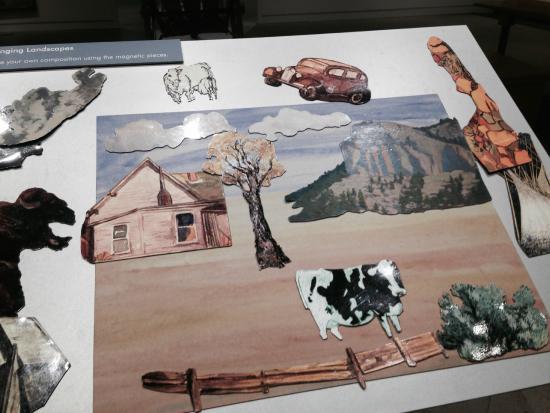 Yellowstone Art Museum: Hands-on