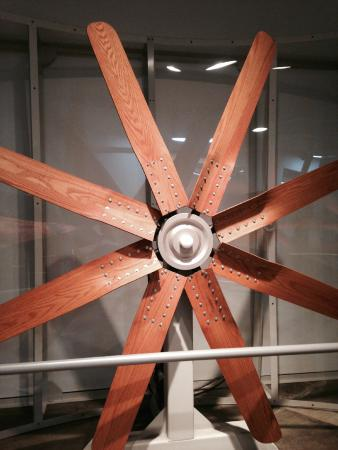 Yellowstone Art Museum: Wind turbines