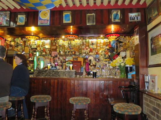 Newmarket-on-Fergus, Ireland: View of the Bar from inside