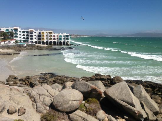 Langebaan, Sydafrika: Picturesque, capturing the kalivas extending into the ocean