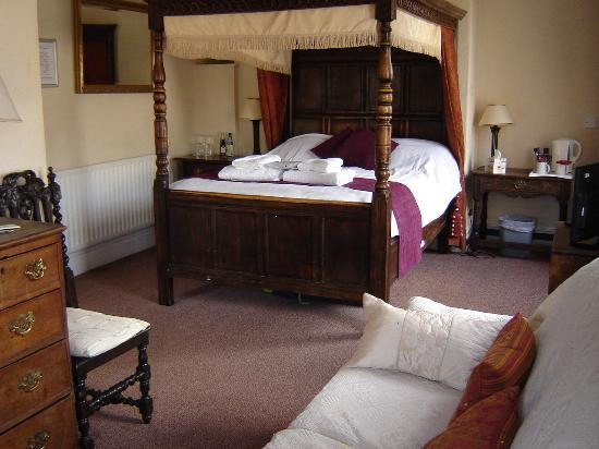 Ye Olde Nags Head: The room we had.