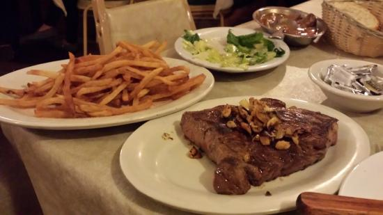 JT Bar Dining Room Sirloin Fries Salad And More