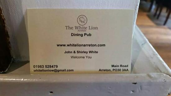 White lion pub