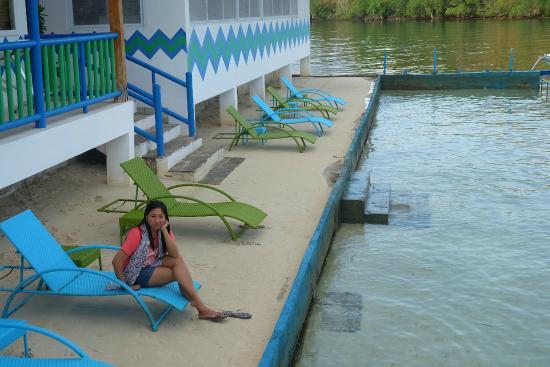 Enjoying The Sand And Sea Picture Of Coron Underwater Garden Resort Coron Tripadvisor