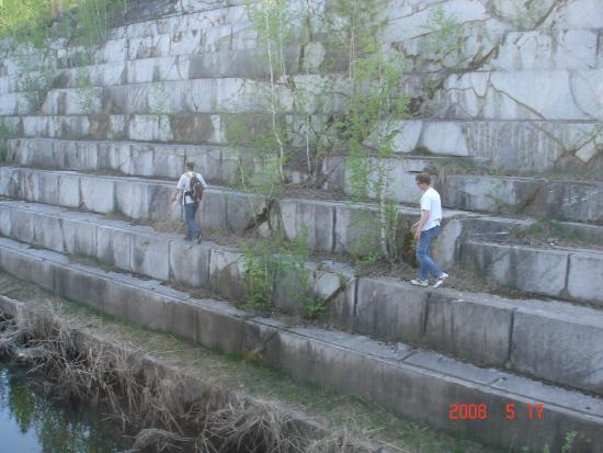 Искитим, Россия: мраморный карьер