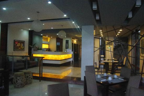 Reception Picture Of Hotel San Francisco Catbalogan