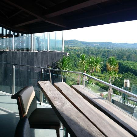 RIMBA Jimbaran Bali by AYANA : top floor view