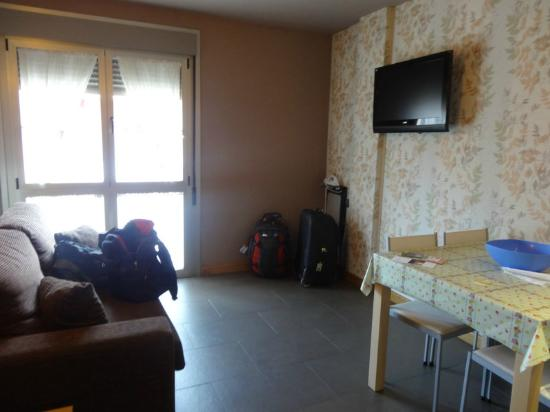 Apartamentos Spa Cueto: Lounge area