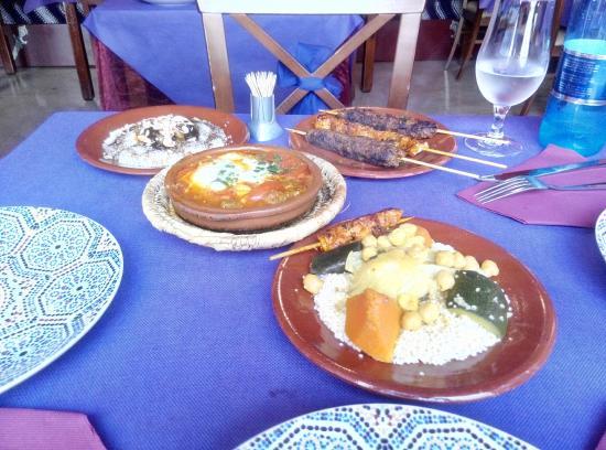 Parte del men picture of argana murcia tripadvisor for Argana moroccan cuisine