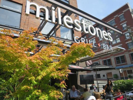 Milestones: restaurant