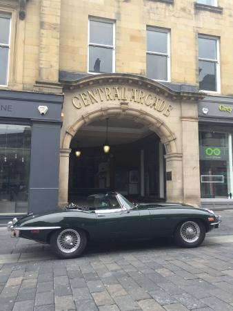 ‪Northumbria Classic Car Hire‬