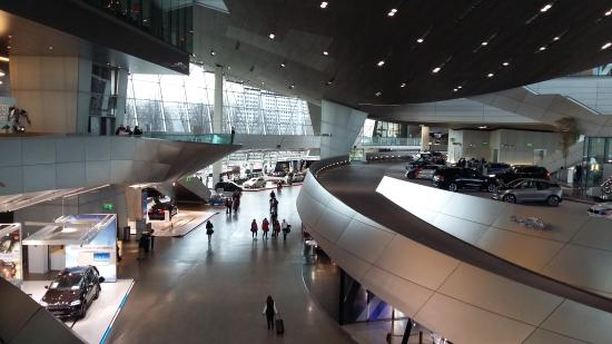 BMW's museum interior - ミュン...