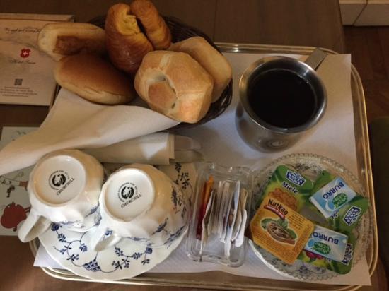 Hotel Suisse: kahvaltı