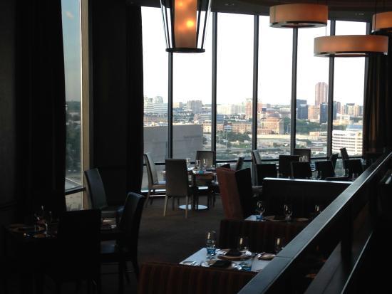 Hilton Anatole Vue Du Restaurant Grill