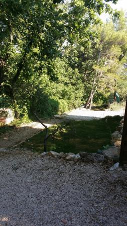 Simiane-Collongue, Francia: Le bonheur! Calme, joli, verdoyant, propre, hôtes au petit soin et super petit déjeuner maison!