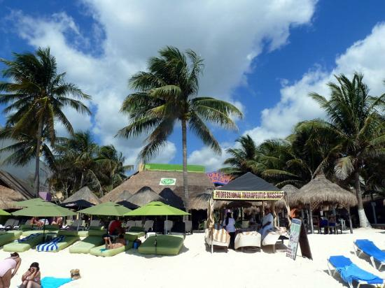 Hotel Costa Del Mar пляж
