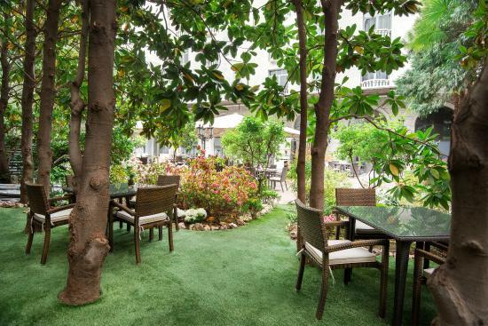 Recepcion picture of jardin de recoletos madrid for Jardin de recoletos