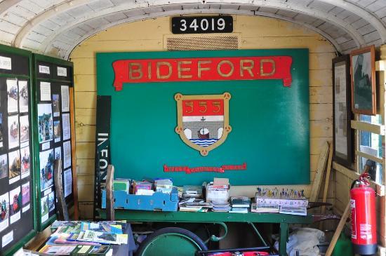 Графство Девон, UK: Railway Heritage Centre at Bideford