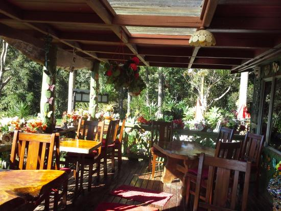 Suzannes's Hideaway Cafe: Balcony
