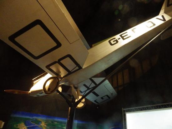 Hinkler Hall of Aviation : one of Bert Hinkler's planes